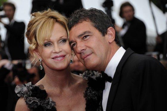 "AFP/""Scanpix"" nuotr./Antonio Banderasas ir Melanie Griffith"