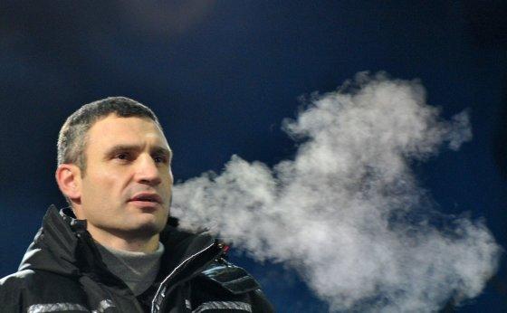 "AFP/""Scanpix"" nuotr./Opozicinės partijos UDAR lyderis Vitalijus Klyčko"