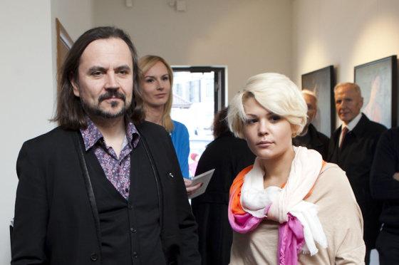 Mariaus Žičiaus/Žmonės.lt nuotr. /Oskaras Koršunovas ir Monika Dirsytė