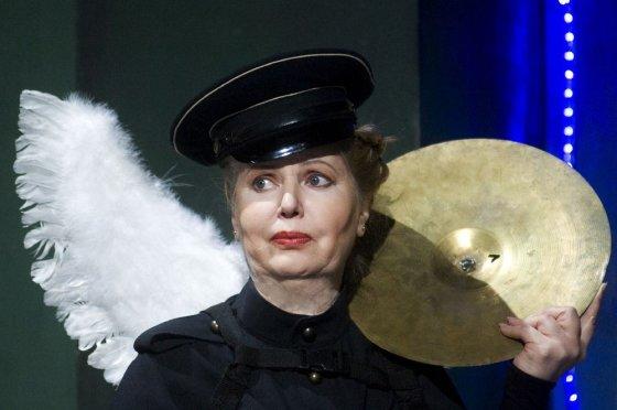 """D.Matvejevo nuotr./Vaiva Mainelytė spektaklyje """"Lilijomas"""""""
