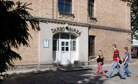 Karolio Kavolėlio/BFL nuotr./Darbo birža