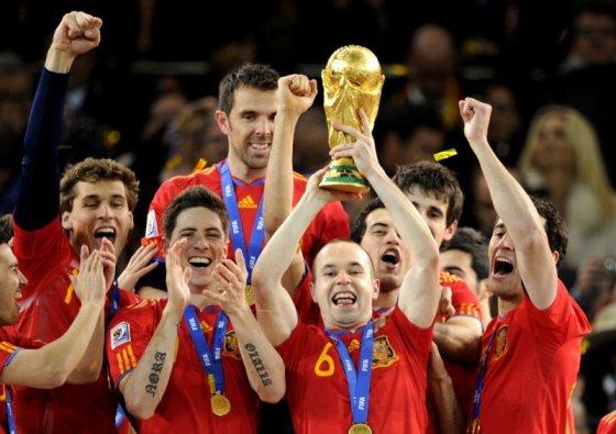 """AFP/""""Scanpix"""" nuotr./Ispanijos futbolo rinktinė"""