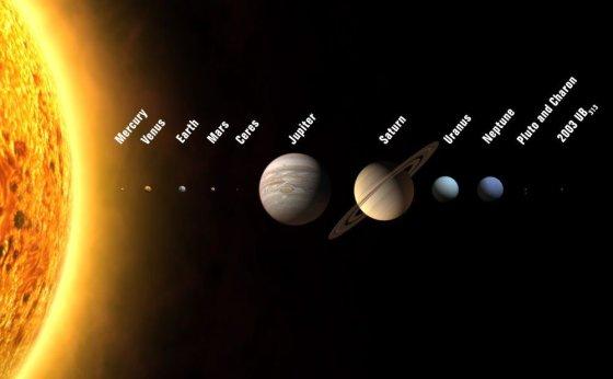 """""""Scanpix"""" nuotr./Saulės sistemos planetos ir Plutonas"""