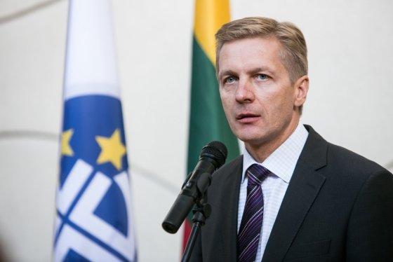 Andriaus Ufarto/BFL nuotr./Klaipėdos uosto vadovas Arvydas Vaitkus
