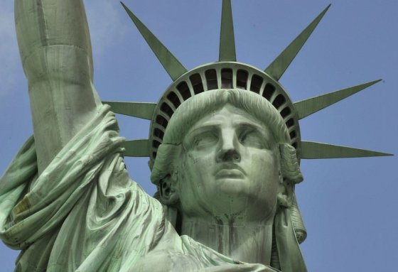 "AFP/""Scanpix"" nuotr./Laisvės statula"