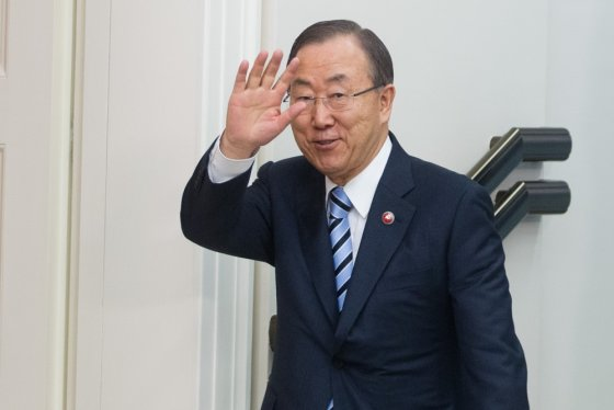 BFL/Vyginto Skaraičio nuotr./Ban Ki-moonas