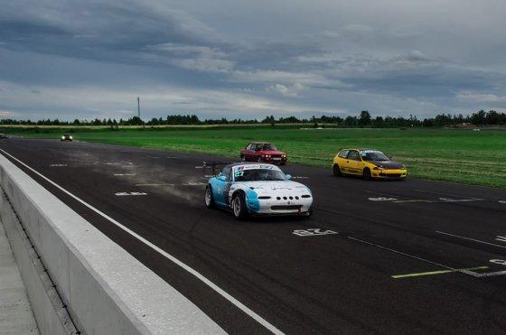 """Domasm.com nuotr./""""Autoplius Fast Lap"""" varžybos """"Audruring"""" trasoje"""