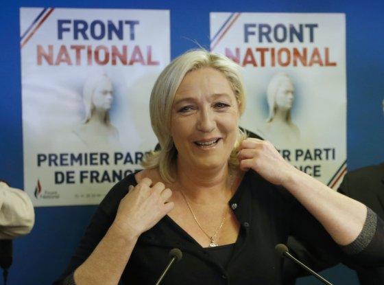 "AFP/""Scanpix"" nuotr./Nacionalinio fronto lyderė Marie Le Pen"