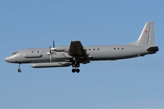 """Wikipedia.com iliustr./Rusijos žvalgybos lėktuvas """"Il-20M"""""""