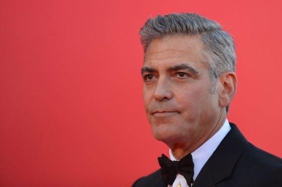"""AFP/""""Scanpix"""" nuotr./George'as Clooney"""