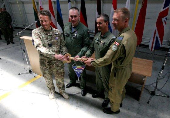 Alvydo Januševičiaus nuotr./NATO oro policijos misijos pasikeitimas
