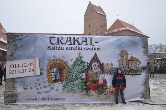 Sigitos Nemeikaitės nuotr./Trakai šiemet paskelbti Kalėdų Senelių sostine