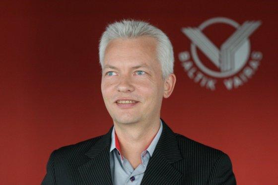 """Baltik vairo"" vadovas Peteris Jensby"