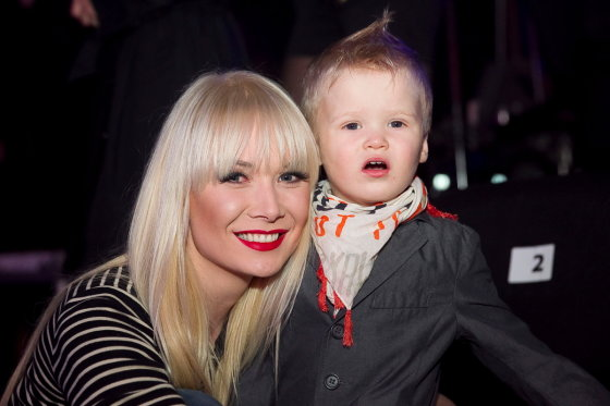Viganto Ovadnevo/Žmonės.lt nuotr./Natalijas Bunkė su sūnumi Kristupu