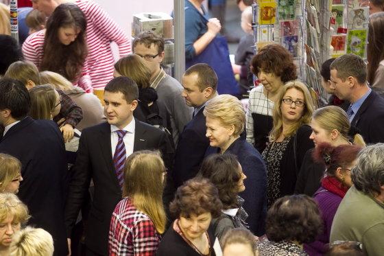 Viganto Ovadnevo/Žmonės.lt nuotr./15-oji Vilniaus knygų mugė