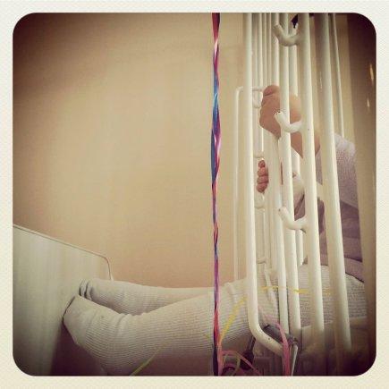 Raimondos Vyšnios nuotr./Vaikas ligoninėje