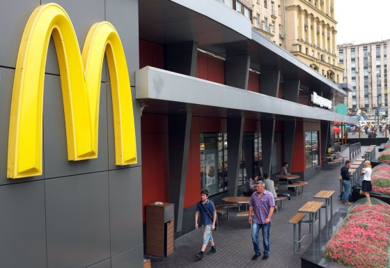 "AFP/""Scanpix"" nuotr./Maskvoje uždarytas ""McDonald's"" restoranas"