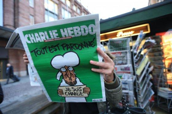 """""""Scanpix""""/""""SIPA"""" nuotr./Savaitraštis """"Charlie Hebdo"""""""