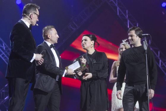 Luko Balandžio/Žmonės.lt nuotr./Andrius Rožickas, Vladimiras Simonko, Jazzu ir Leonas Somovas