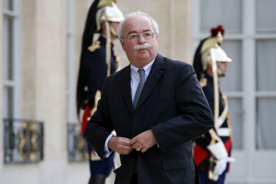 """Reuters""/""Scanpix"" nuotr./Naftos milžinės ""Total"" vadovas Christophe'as de Margerie Prancūzijos prezidentūroje"