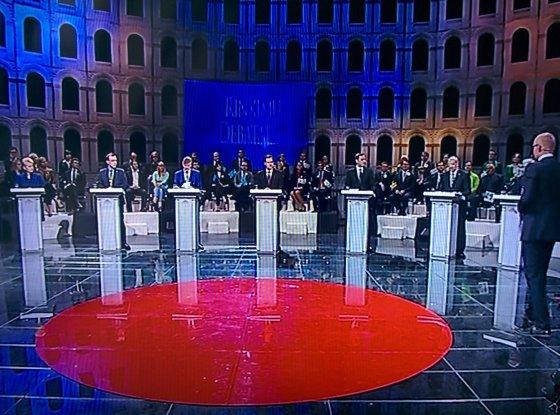 15min.lt nuotr./Kandidatų į prezidentus debatai
