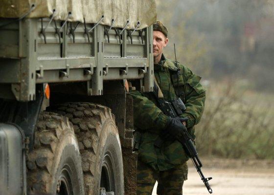 """""""Reuters""""/""""Scanpix"""" nuotr./Rusijos karys Kryme"""