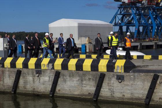 BFL/Ingos Juodytės nuotr./Suskystintų gamtinių dujų terminalo statybos