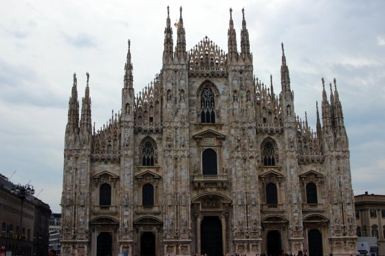 Manto Bertulio nuotr./Trumpas sustojimas Milane