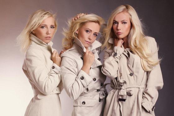 love2foto nuotr./Gintarė Mackelaitė, Renata Klimaitytė ir Alvyda Chmelevskytė
