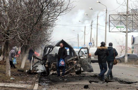 "AFP/""Scanpix"" nuotr./Mariupolis"