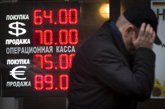 """Scanpix""/AP nuotr./Rublio krizė"