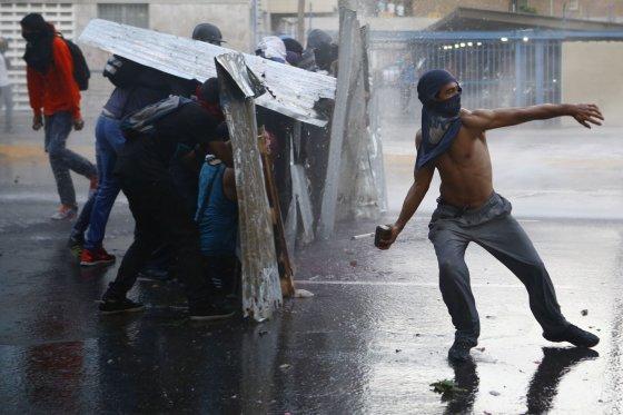 """""""Reuters""""/""""Scanpix"""" nuotr./Taip Venesuela atrodo kovą"""