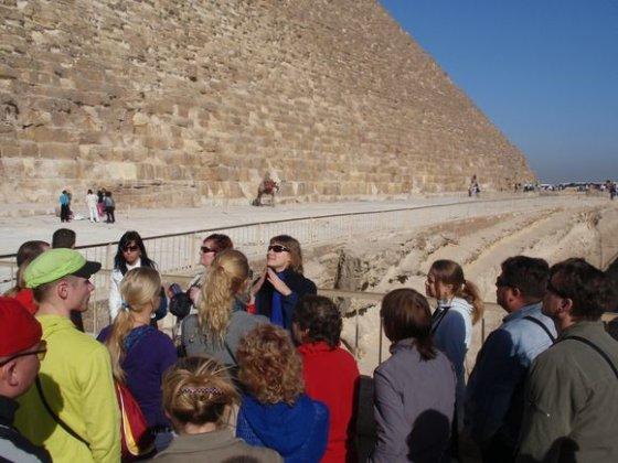 Olego nuotr./Giza piramidės