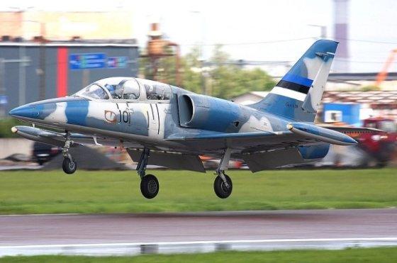 Stefano Sonnenbergo/wikimedia.org nuotr./Estijos karinių oro pajėgų lėktuvas L-39