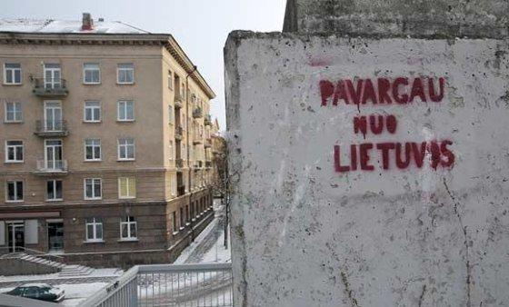 """Andriaus Vaitkevičiaus/15min.lt nuotr./""""Pavargau nuo Lietuvos"""""""