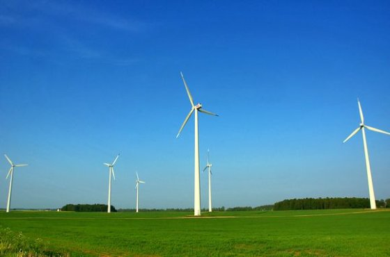 A.Bagdono/BFL nuotr./Vėjo energija vertinama kaip didžiulis potencialas elektros energijos gamybai.