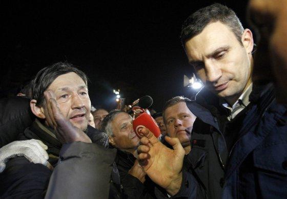 """""""Reuters""""/""""Scanpix"""" nuotr./Opozicinės partijos UDAR lyderis Vitalijus Klyčko"""