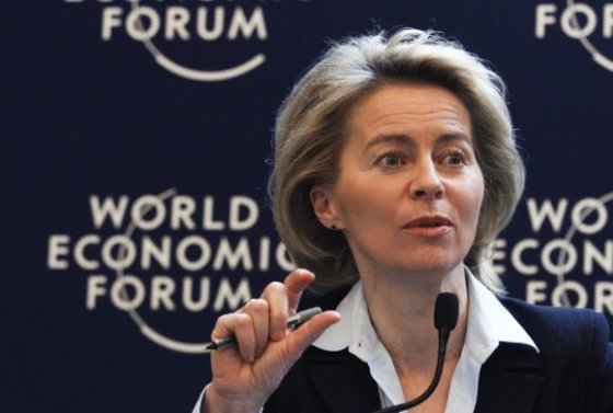 """""""Scanpix"""" nuotr./Vokietijos Darbo ministrė Ursula von der Leyen"""