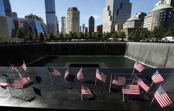 """""""Scanpix"""" nuotr./Niujorke pagerbtos rugsėjo 11-osios aukos"""