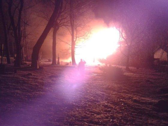 Sausio 13 d. gaisras Kelmėje