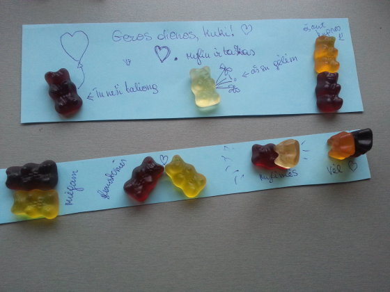 Skaitytojos Simonos nuotr./Valentino diena, Simonos guminukų konkursas