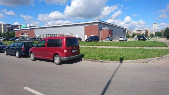 VW Caddy su greičio matuokliu Šiauliuose