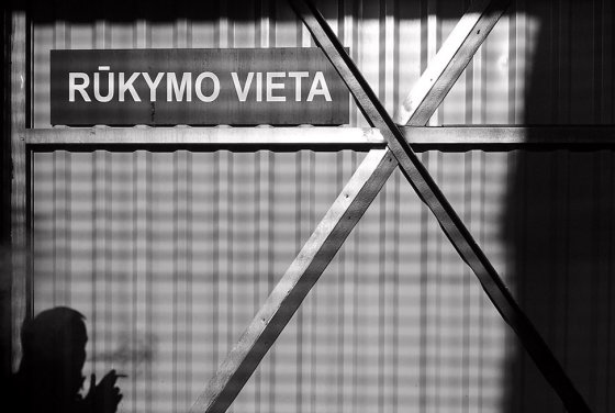 Andriaus Vaitkevičiaus/15min.lt nuotr./Rūkymas