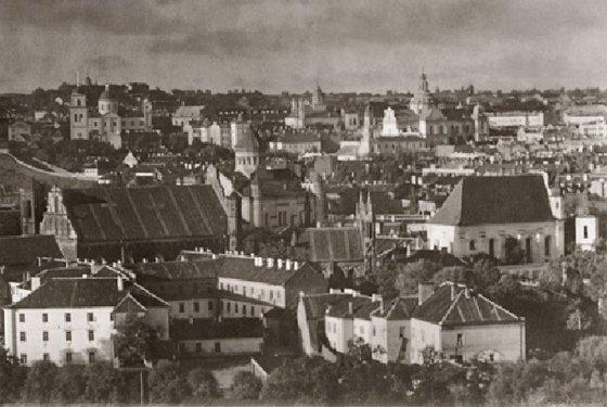 Jano Bulhako nuotr. iš Lietuvos nacionalinio muziejaus archyvo/Senamiesčio panorama. 1912-1915 m.