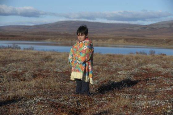 """""""Scanpix"""" nuotr./Mažasis eskimas pasitinka rudenį."""