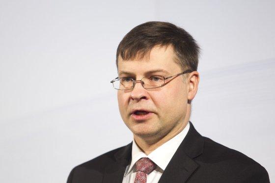 Irmanto Gelūno/15min.lt nuotr./Valdis Dombrovskis