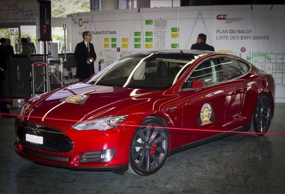 Irmanto Gelūno/15min.lt nuotr./Europos metų automobilio paskelbimas Ženevoje