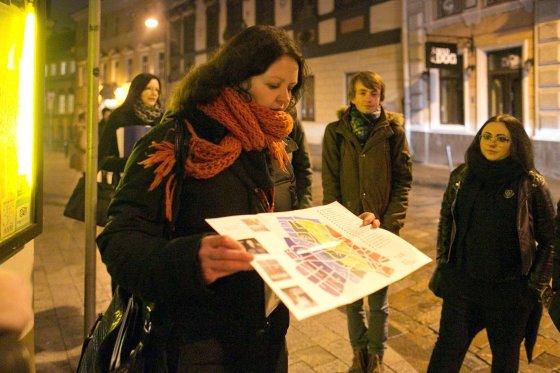 """Irmanto Gelūno/15min.lt nuotr./Gėjų takais: """"Vaiduokliai"""" pristatė ekskursiją apie LGBT bendruomenę"""