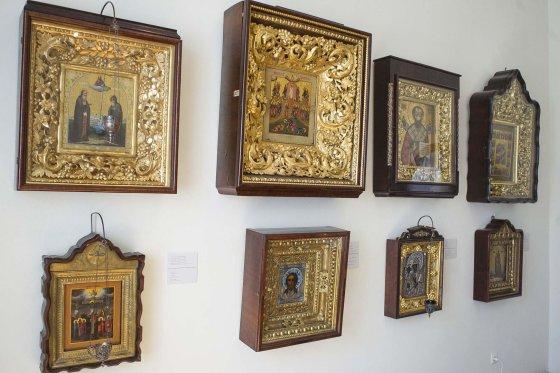 Irmanto Gelūno/15min.lt nuotr./Ikonų kolekcija