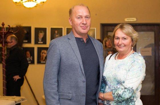 Irmanto Gelūno/15min.lt nuotr./Jurijus Smoriginas su žmona Dalia